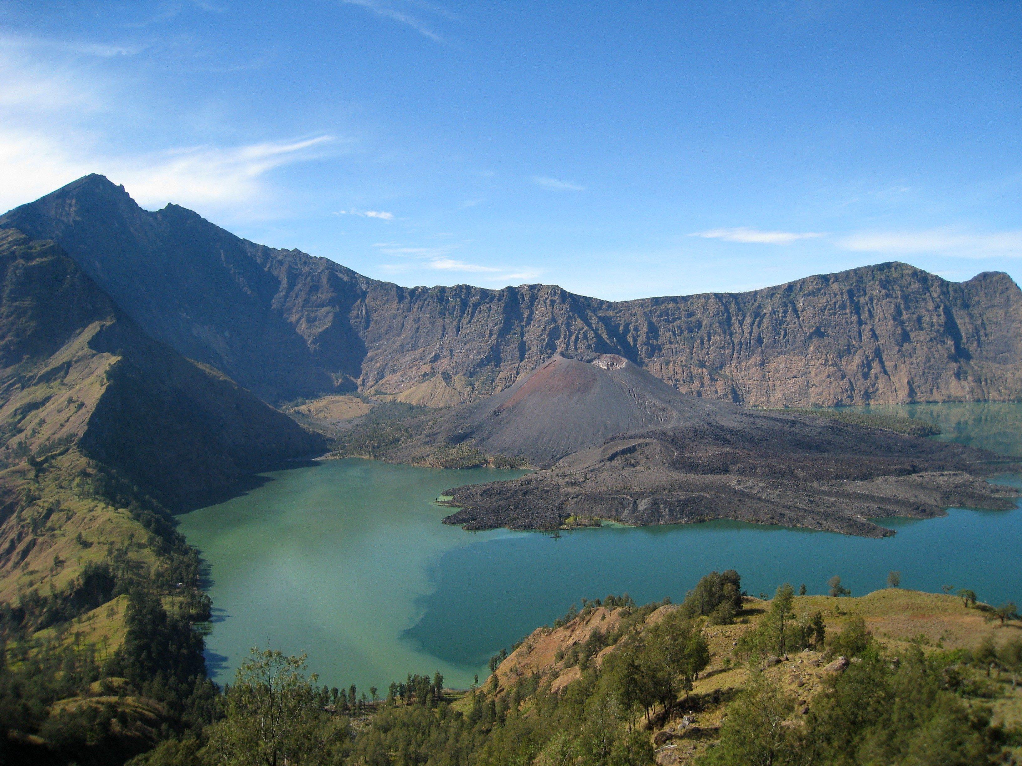 Liburan di Pulau Lombok - Gunung RInjani