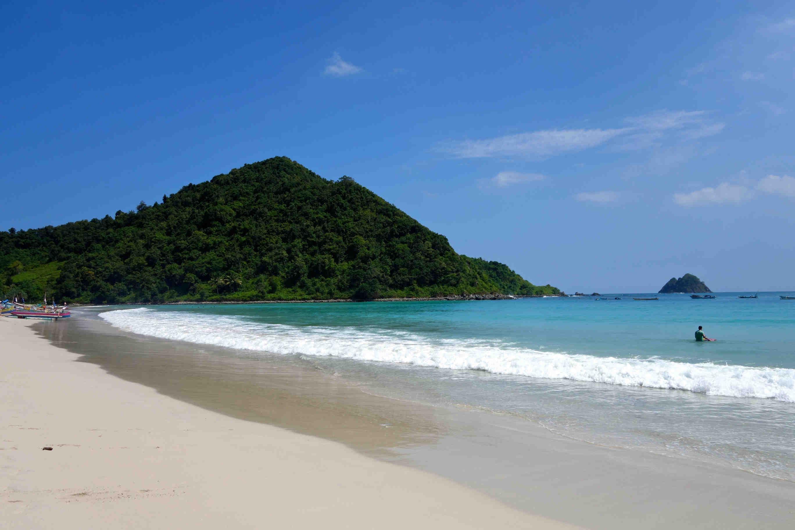 Tempat Wisata Lombok - Pantai Gili Trawangan