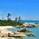 Sehari Menikmati Wisata Menjelajah Pantai Tikus, Bangka