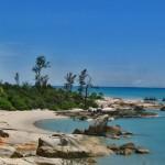 Mengintip Pesona Alam Pantai Tikus di Bangka