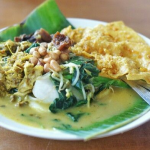Mencicipi Kuliner Blayag di Kuliner Gatsu Tengah Bali