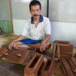 Kallantung Alat Musik Dari Desa Mengunan Bantul yang Dikreasikan Tukang Kayu